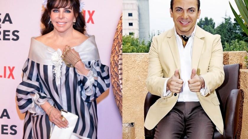 Ahora están relacionando sentimentalmente a Verónica Castro con su hijo Cristian.(Agencia México)