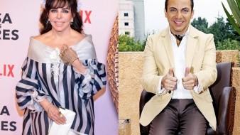 Ahora están relacionando sentimentalmente a Verónica Castro con su hijo Cristian.