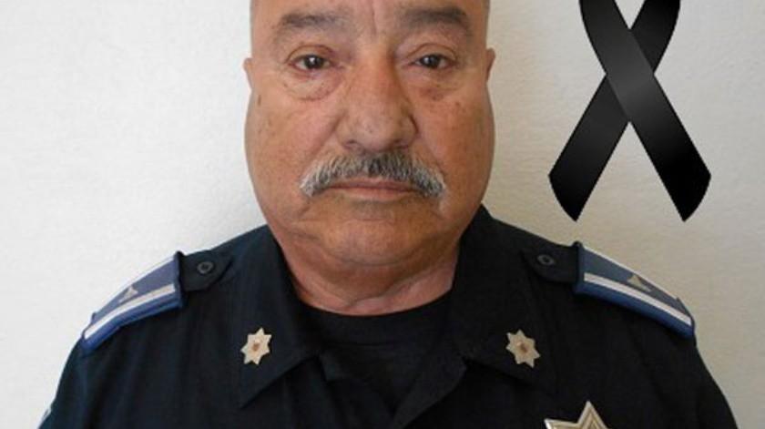 El oficial murió atropellado esta mañana en bulevar Fundadores.(Cortesía)