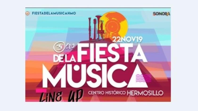 Por el Día del Músico se lleva a cabo la Fiesta de la Música.
