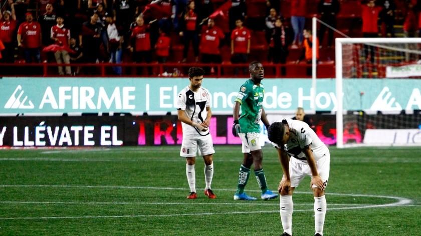 Xolos dejó escapar su última oportunidad de clasificar a Liguilla al perder 2-1 ante León en el Estadio Caliente, en la última jornada del Apertura 2019(Alejandro Zepeda)