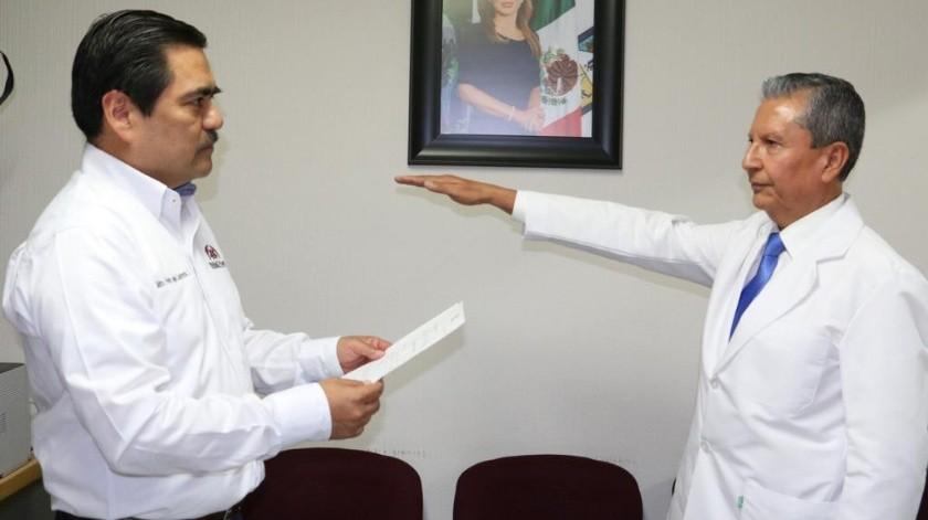 Tiene nuevo titular Hospital Adolfo López Mateos del Isssteson.