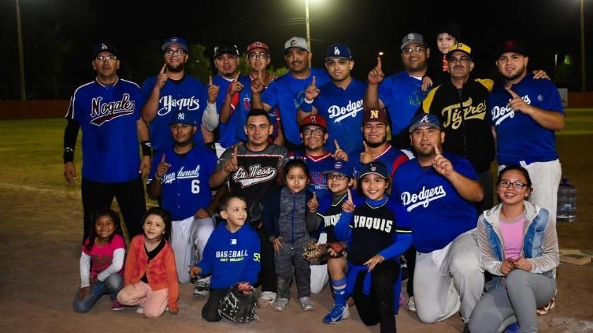 Nogales se consagró campeón de Segunda Fuerza.(Cortesía)