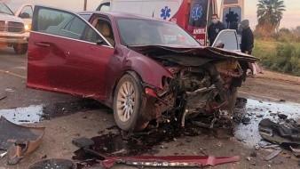 "El accidente ocurrió cerca del empaque ""Navarro"" en la salida de la carretera estatal 2."