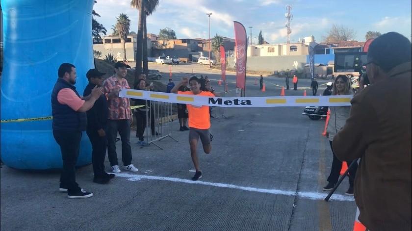 Andrea Jarillo llegó a la meta con un tiempo de 19:11.(Johanna Mejía)