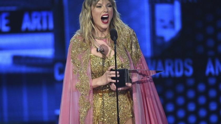 Artista de la década: Taylor Swift.(AP)