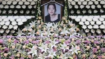La cantante Goo Ha-ra dejó una nota