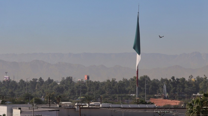 Despierta Mexicali con dañina calidad del aire(Daniel Resendiz)