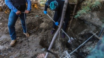 Diversos colectivos de búsqueda de desaparecidos mantienen labores en distintas áreas de Tijuana.