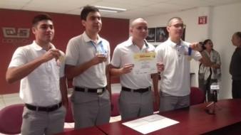 Sobresalen alumnos del Cobach Reforma en Olimpiada Nacional