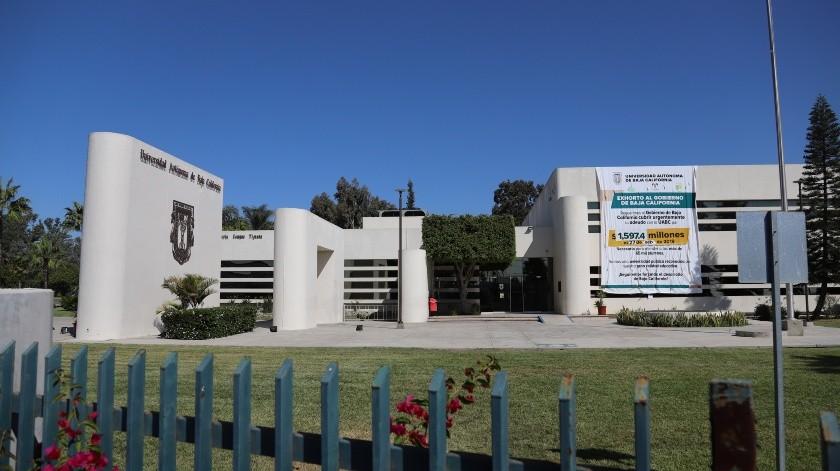 A través de sus redes sociales, la universidad informó que no habrá actividades en sus tres campus en Baja California, que son en Ensenada, Mexicali y Tijuana.(Archivo GH)