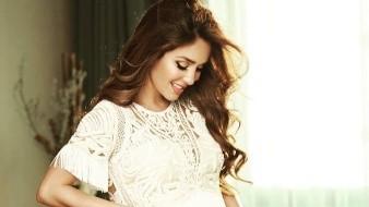 La cantante Anahí Puente está muy feliz disfrutando de su embarazo y muestra de ello es la fotografía que compartió la también actriz de la telenovela