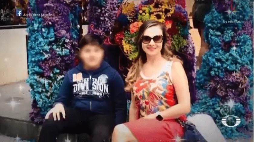 En CDMX, Abril fue asesinada a balazos cuando iba en el asiento de copiloto de un vehículo. Sus hijos estaban en el asiento trasero.(Captura)