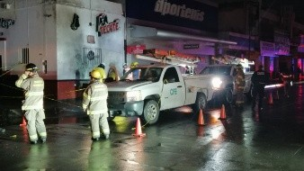 Consterna a vecinos accidente de jovencitos en Centro de Hermosillo