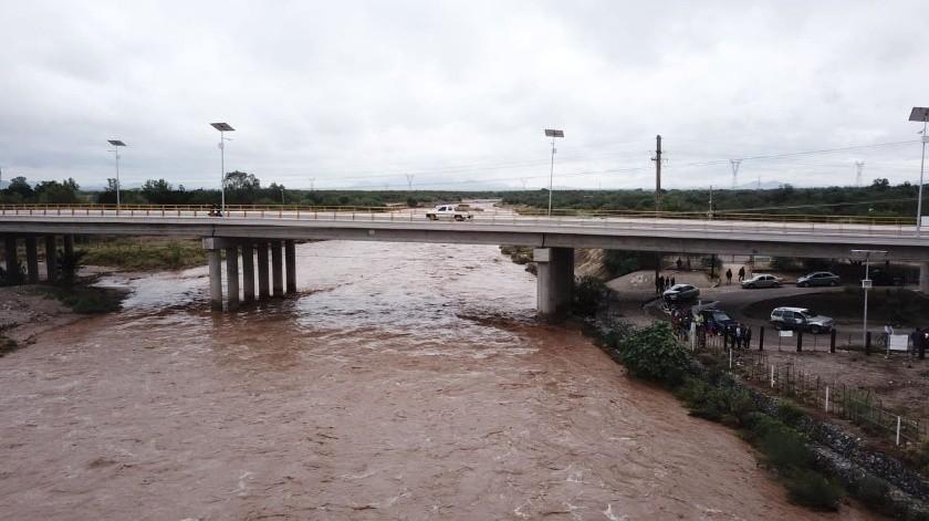 VIDEO: Enorme caudal del Río San Miguel