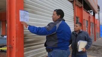 Realizan clausura de establecimientos por no contar con licencia ambiental municipal