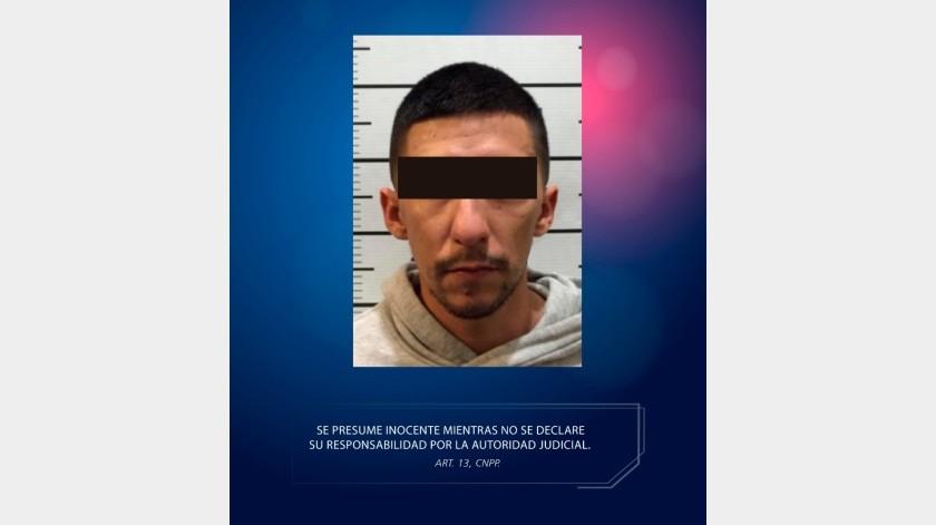 En la últimas horas la Guardia Estatal de Seguridad e Investigación (GESI), ha capturado a prófugos internacionales en distintas partes de la entidad, en esta ocasión arrestaron a un sujeto buscado en Estados Unidos por posesión y transporte de droga.(Cortesía)