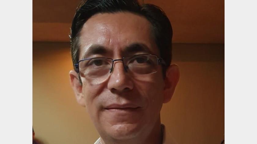 Jorge Alberto Zambada Castro, presi el Colegio de Arquitectos de Navojoa.(Jesús Palomares)