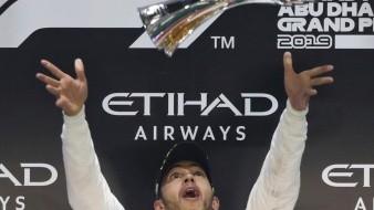 Lewis Hamilton se lleva el GP de Abu Dabi, el último del año