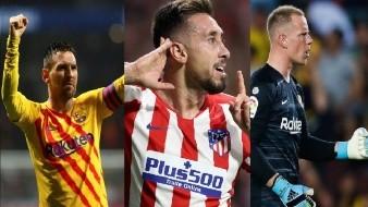 Ter Stegen y Herrera se roban el Atlético vs Barcelona; Messi lo define