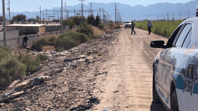 Cuerpo calcinado es hallado en la periferia de Lomas Altas