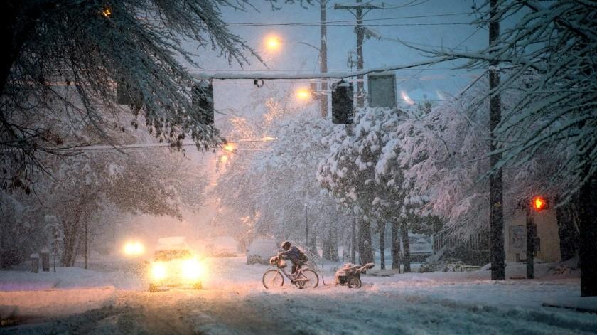 Advierten sobre la llegada de gran tormenta de nievea EU(GH)