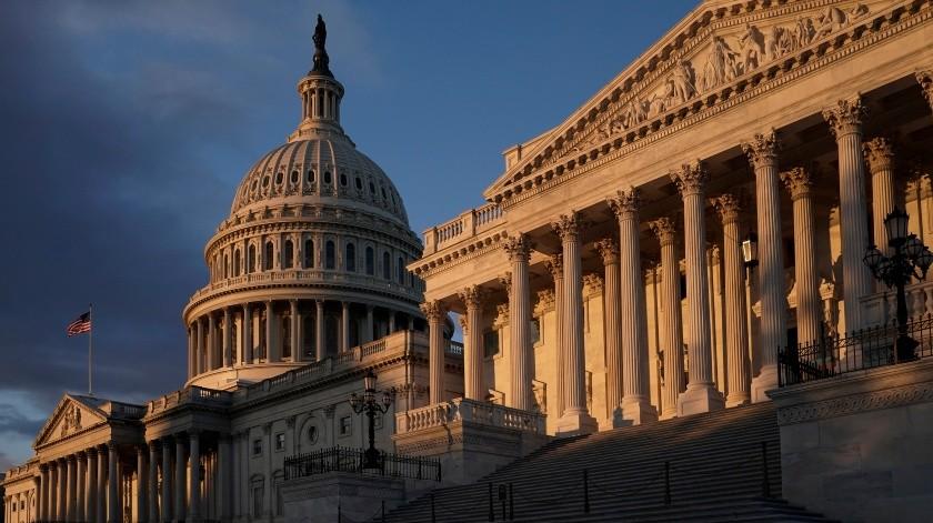 Al ausentarse de la audiencia, la Casa Blanca dejará en manos de sus aliados, como el congresista republicano Jim Jordan, la tarea de convencer a los estadounidenses.(AP)