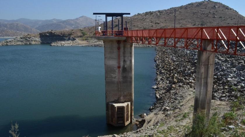 El volumnen de la presa El Carrizo mejoró con el programa, bombero del Río Colorado y  las lluvias, señalan autoridades.(Cortesía)