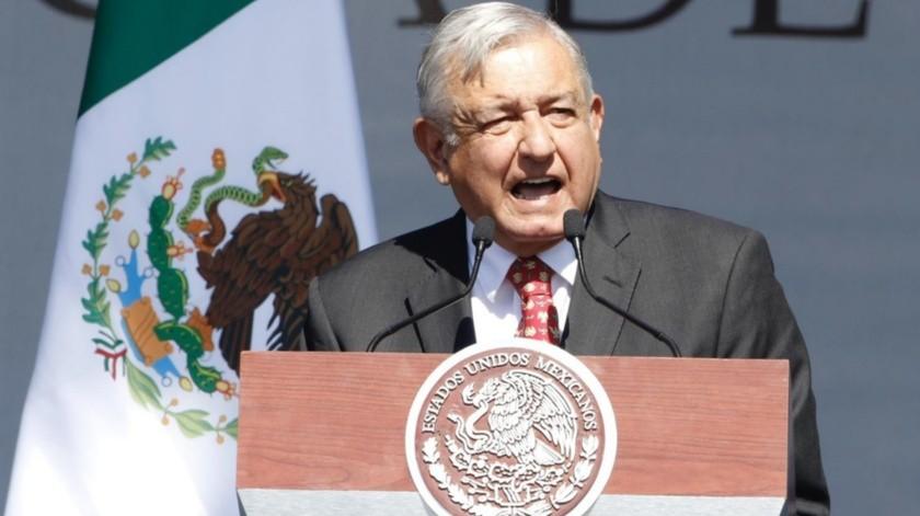 El Presidente Andrés Manuel López Obrador dijo que la transformación está aún en un proceso de transición..