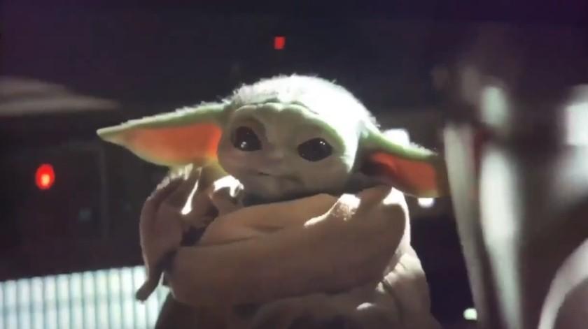 Bebé Yoda es más popular que candidatos demócratas en EU: Estudio(Captura de video)