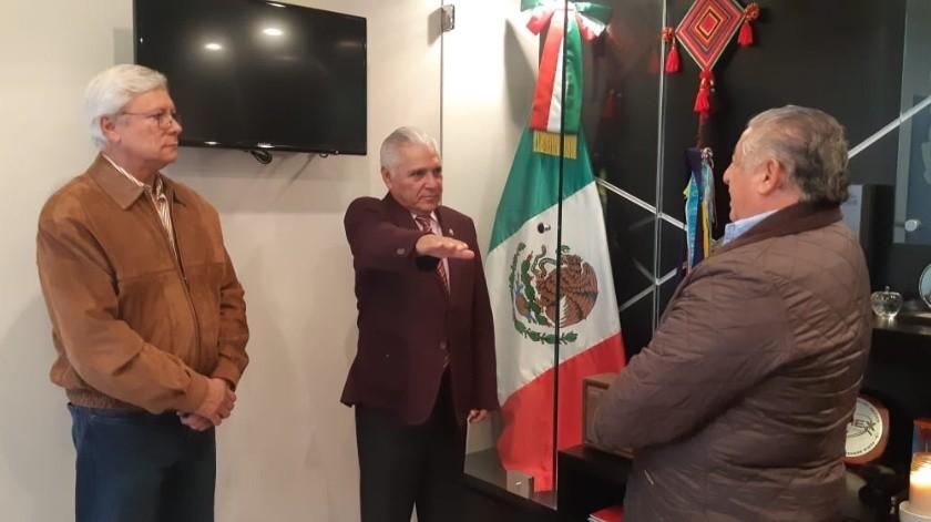 Héctor Mares es el nuevo oficial Mayor del Estado(Cortesía)