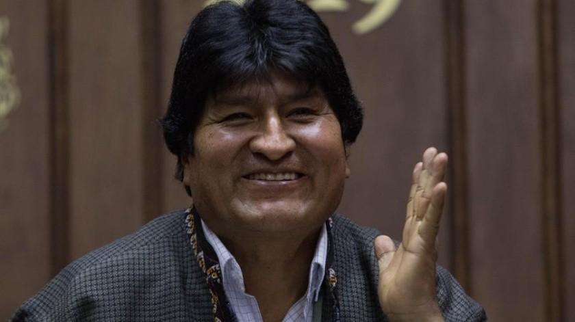 Partido de Evo Morales aún cuenta con él como coordinador(EFE)