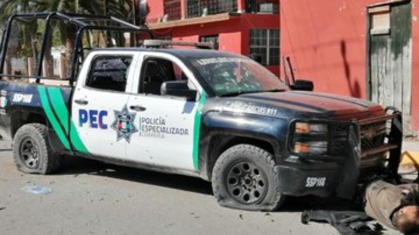 Caen dos por enfrentamientos en Villa Unión, Coahuila(Twitter)