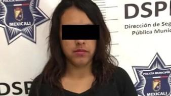 La mujer fue detenida ante la apariencia del delito de omisión de cuidados.
