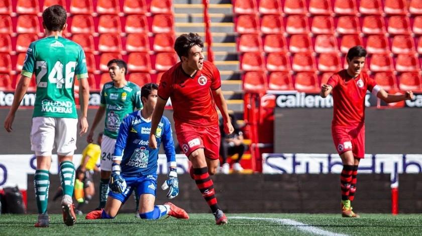 Los equipos juveniles de Xolos lograron pasar a la semifinal del Apertura 2019(Cortesía)