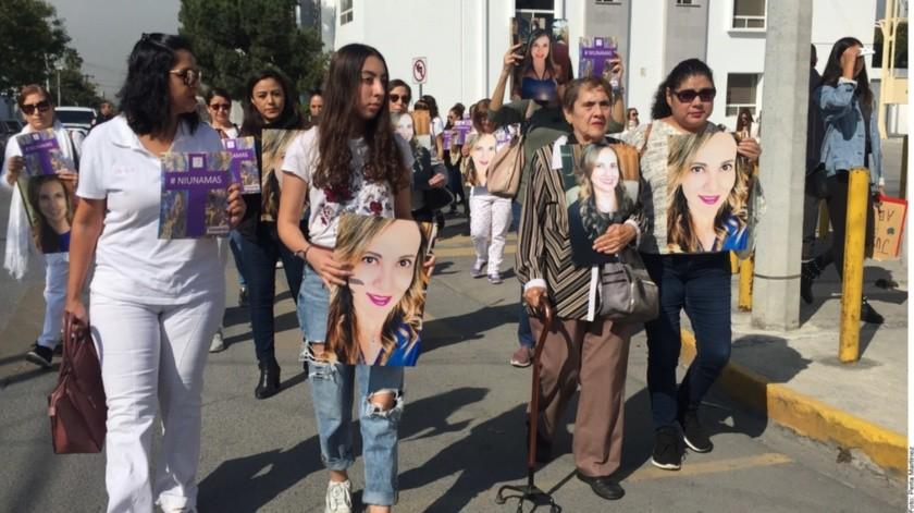 """""""Ex esposo la violentó 10 años"""", dice hermano de Abril(Agencia Reforma)"""