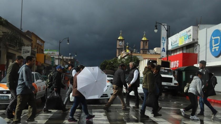 Pronostican otros cuatro días de lluvias en Tijuana
