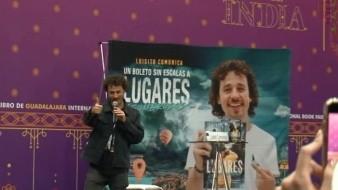 Luisito Comunica presenta libro en la FIL Guadalajara