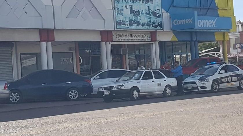 Realizan operativo contra taxis en CO(Mayra Echeverría)