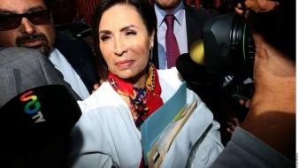 Abren período de pruebas contra Rosario Robles  por juicio político