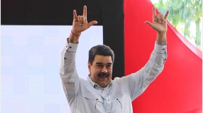 """El presidente venezolano dijo al respecto que """"hay algunas oligarquías que sueñan con meterse en Venezuela"""".(EFE)"""