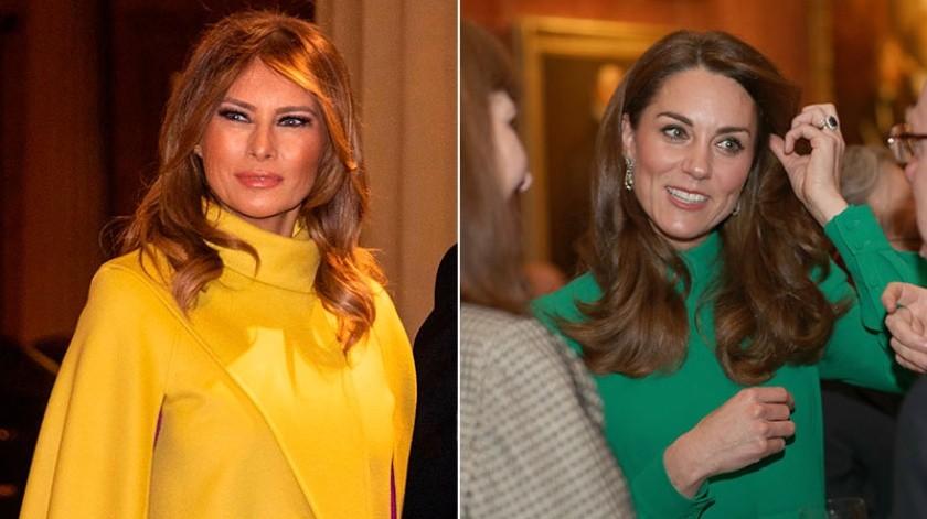 Entre los invitados especiales estuvieron el presidente de Estados Unidos, Donald Trump, y su esposa, Melania Trump, quienes previo a este encuentro se reunieron con el príncipe Carlos y la duquesa de Cornwall en Clarence House para tomar el té.(Tomada de la red)