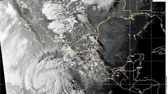De los 35 ciclones tropicales, 4 impactaron las costas del Pacífico mexicano y uno el Golfo de México.