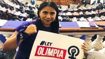 Conoce a Olimpia; su caso impulsó cárcel por compartir fotos íntimas sin permiso