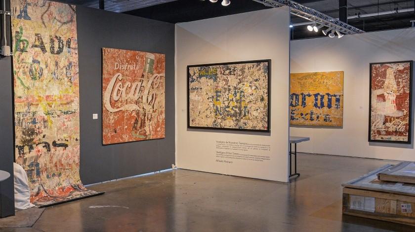 Varias obras de arte pop fueron registradas este martes en las instalaciones del centro de convenciones Maná Wynwood, el barrio artístico de Miami.(EFE)