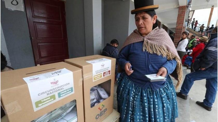 """La Organización de Estados Americanos (OEA) confirmó este miércoles que hubo """"operaciones dolosas"""" en las elecciones del pasado 20 de octubre en Bolivia...(EFE)"""