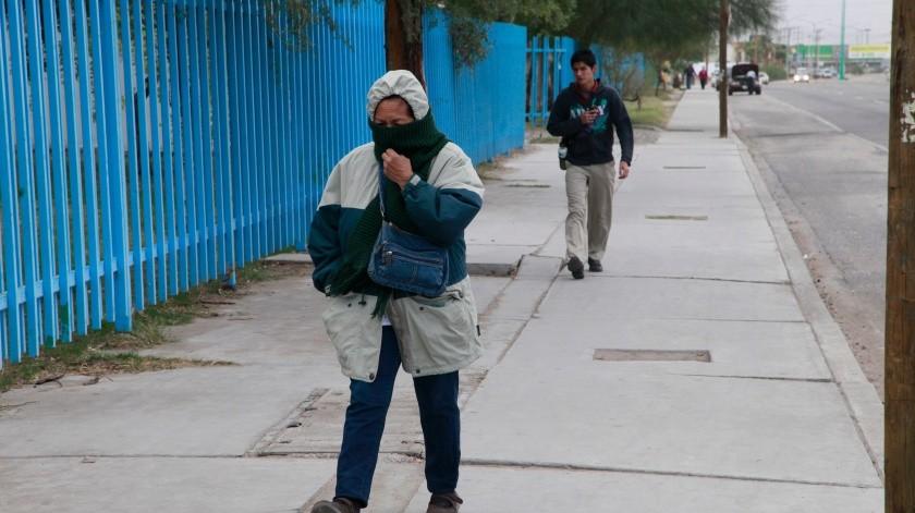Entra a Mexicali frente frío número 20: Protección Civil(Archivo)