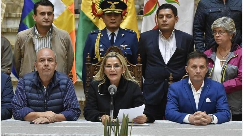 Evo Morales abandonó Bolivia el pasado 11 de noviembre después de que las Fuerzas Armadas lo forzaran a dejar el cargo y recibió asilo en México.(EFE)