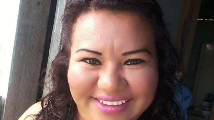Velma es una de las 3 mujeres que reportaron como desaparecidas en Tamaulipas.(Redes.)