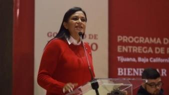 Ariadna Montiel, subsecretaria de Bienestar federal.
